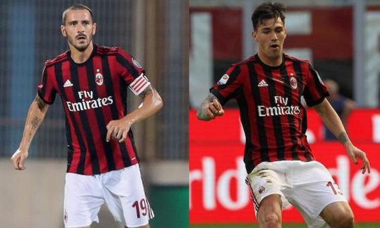 Milan, Bonucci e Romagnoli smentiscono il litigio: 'Basta falsità'