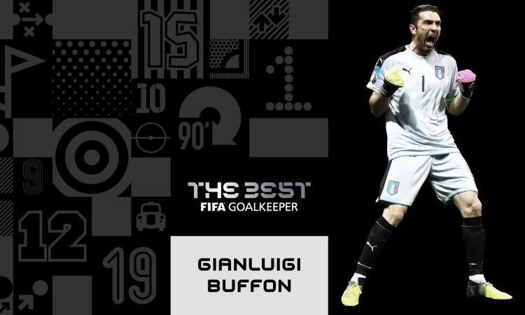 Fifa The Best 2017: è Buffon il miglior portiere VIDEO