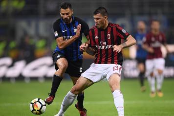 Candreva Romagnoli Inter Milan Sampdoria Vs