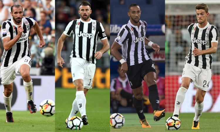 Juventus, la difesa è senza titolari: qual è la miglior coppia centrale? VOTA