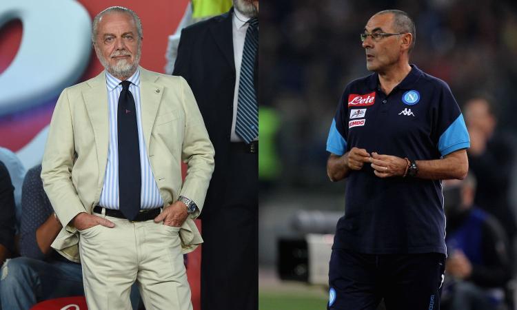 Napoli, De Laurentiis conta più di Sarri
