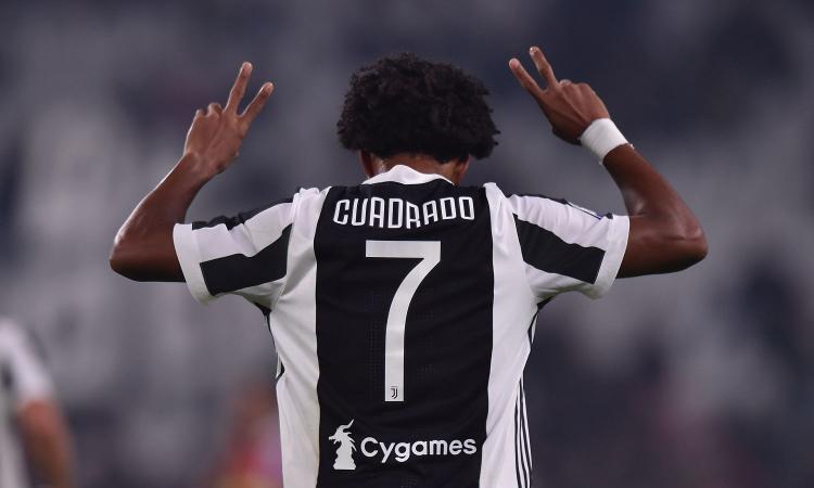Juventus, Cuadrado: 'Primo posto? Ogni anno è sempre più difficile'