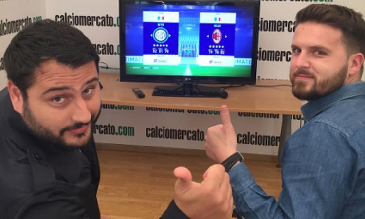 Inter-Milan, ecco com'è finito il derby di Calciomercato a Fifa18 VIDEO