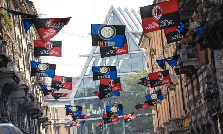 Milano si prepara al secondo derby cinese: Inter-Milan, le FOTO dell'attesa