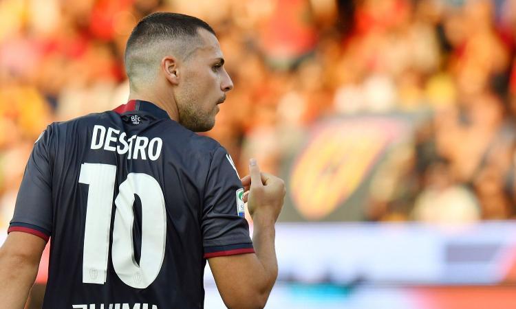 Parma su Destro, due arrivi da Lazio e Napoli