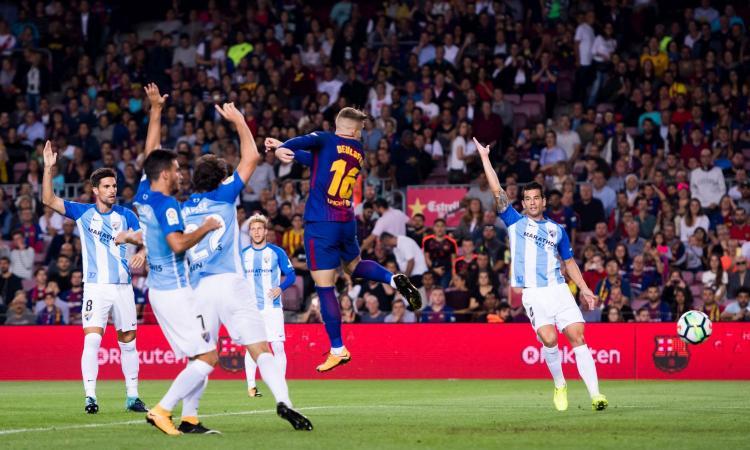 Liga: poker Valencia, segna Zaza. Vince il Barcellona, Deulofeu in gol