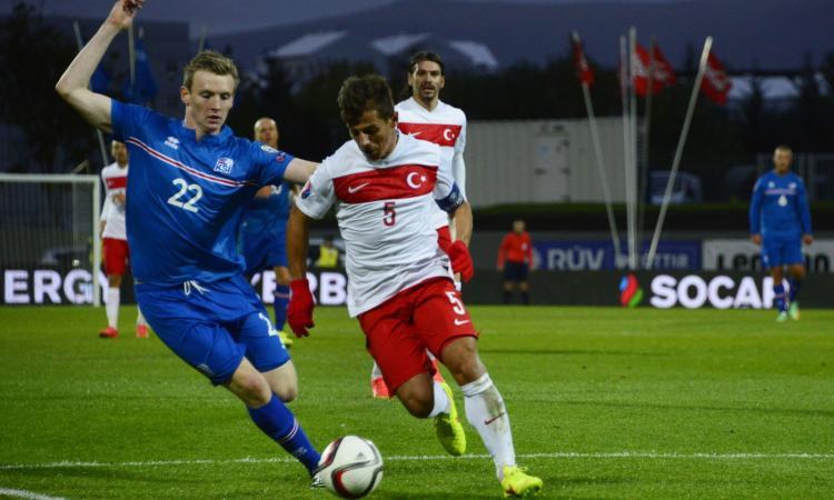 Turchia-Islanda, le formazioni ufficiali: gioca l'ex Inter Emre
