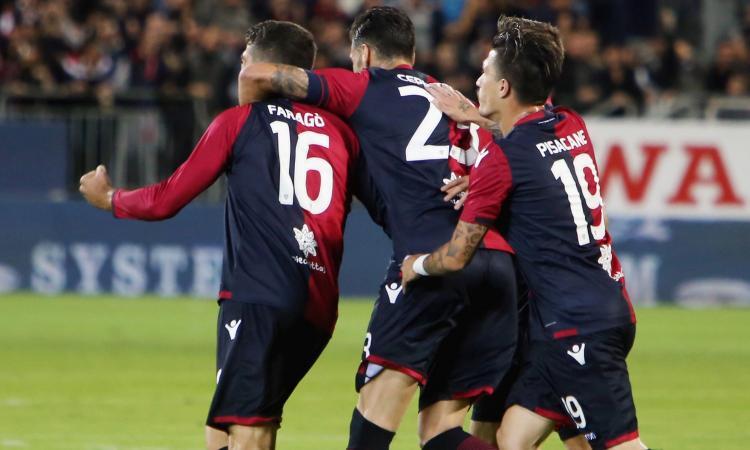 Cagliari-Benevento 2-1: il tabellino VIDEO