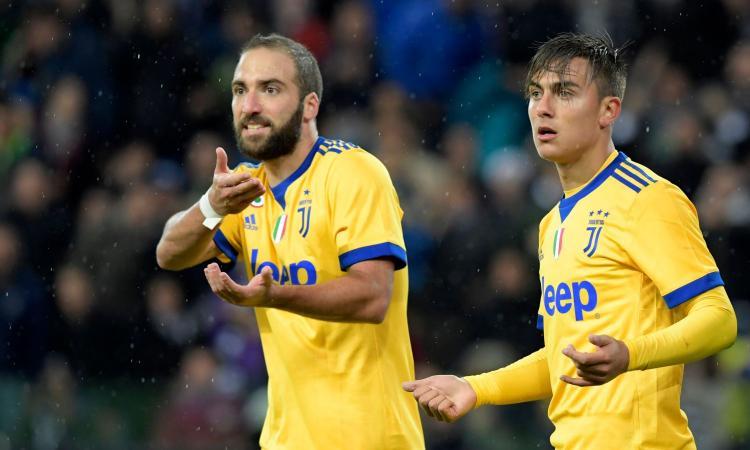 L'allarme di Buffon, la svolta di Allegri: tutto passa dai gol di Dybala e Higuain