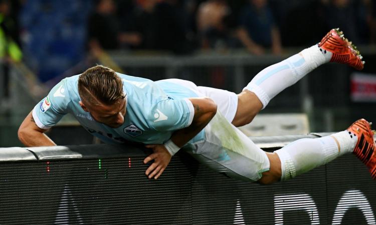 Immobile re dei bomber, è meglio di Messi e Falcao: Lazio, sogno scudetto