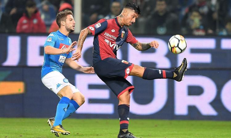 Genoa-Napoli 2-3: il tabellino VIDEO