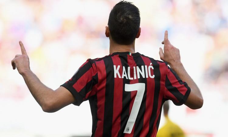 Milan, la giornata di Kalinic