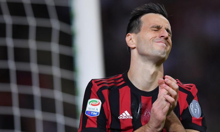 Milan, sempre più difficile il recupero di Kalinic