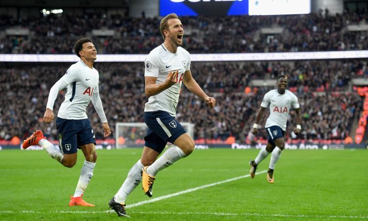 Premier: Tottenham-Liverpool 4-1, Kane brilla sotto gli occhi di Maradona