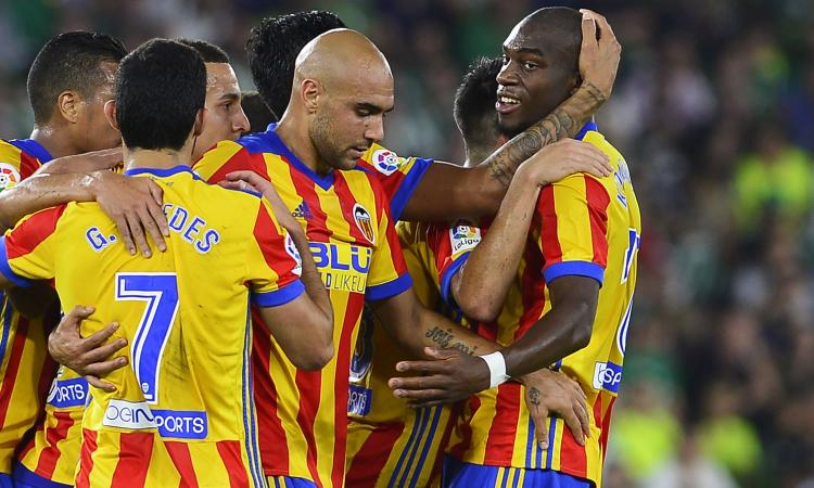 Liga: ok Villarreal e Leganes. Valencia, 6-3 al Betis e secondo posto: Zaza e Kondogbia in gol, Neto para un rigore