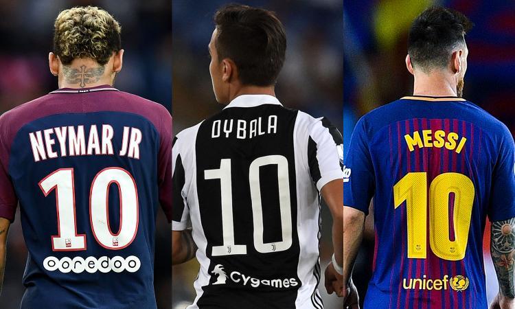 e89f036f2 Serie A, le magliette costano più che in Premier: Dybala batte Messi e  Neymar
