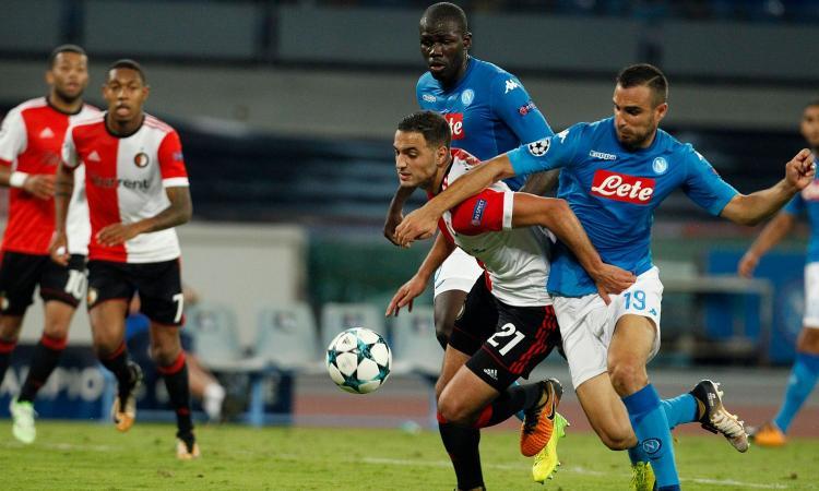 Arsenal, a gennaio assalto a un difensore del Napoli