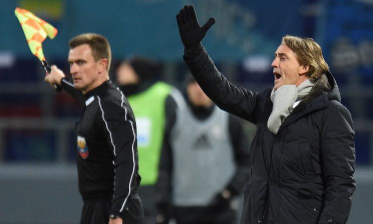 Mancini è in crisi: Zenit travolto dal Lokomotiv Mosca e scavalcato in classifica VIDEO