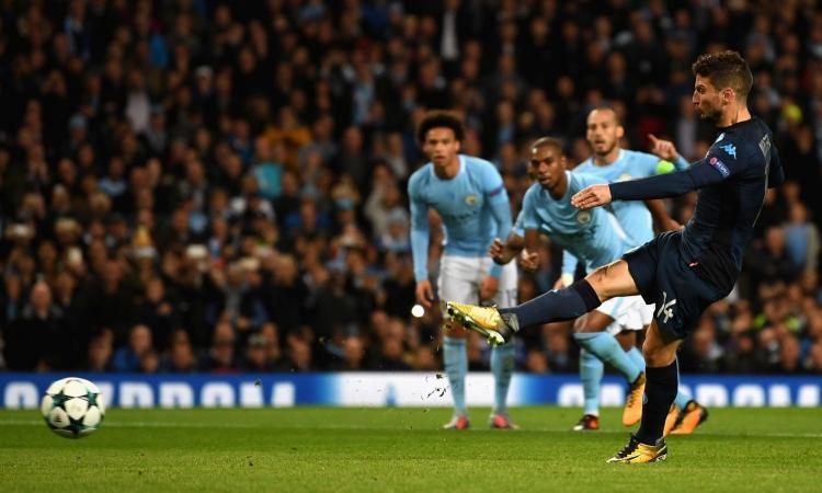 Manchester City-Napoli, le pagelle di CM: Mertens sbaglia tutto, super Ghoulam. Jesus fa miracoli