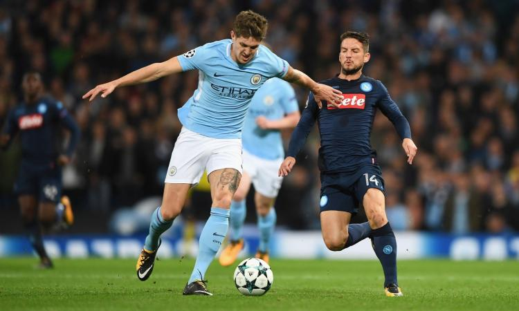 Manchester City-Napoli 2-1: il tabellino