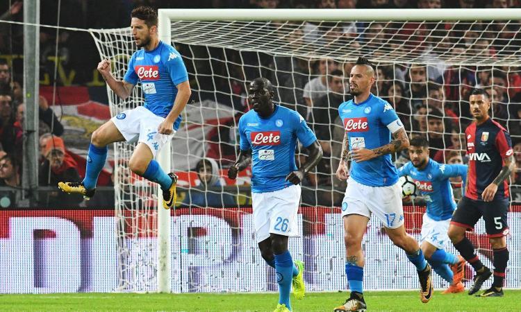 Mertens riporta in testa il Napoli, Roma e Lazio vincono a fatica VIDEO