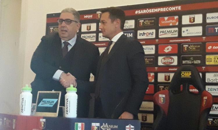 Genoa, Perinetti se ne va: 'Giusto il mio addio, scelta condivisa. Kouame al Napoli? Non credo'