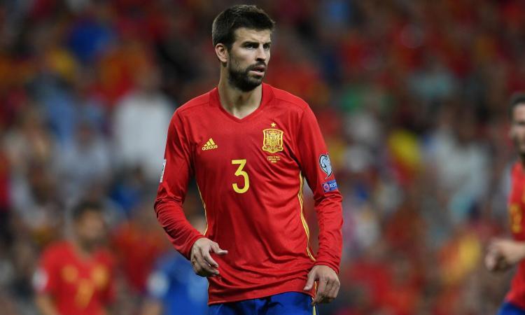 Spagna-Albania, fischi per Piqué