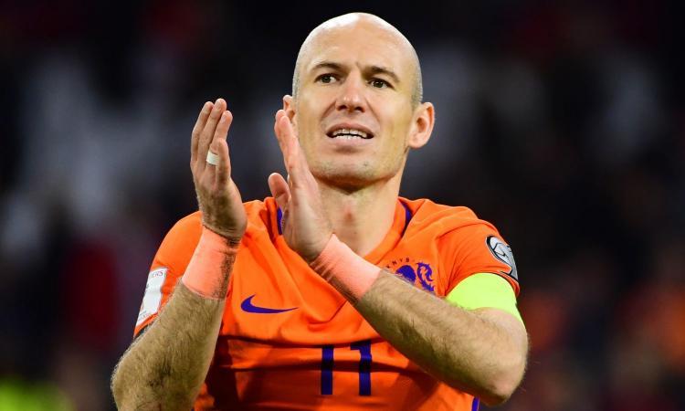 Olanda: Robben ufficializza il ritiro dalla nazionale VIDEO