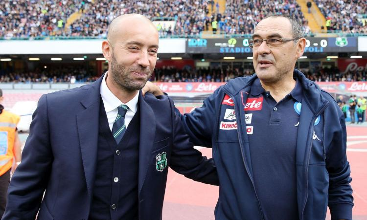 Napoli, Sarri: 'Impossibile tenere questi ritmi, oltre 90 punti per lo scudetto. Basta prendere certi gol' VIDEO
