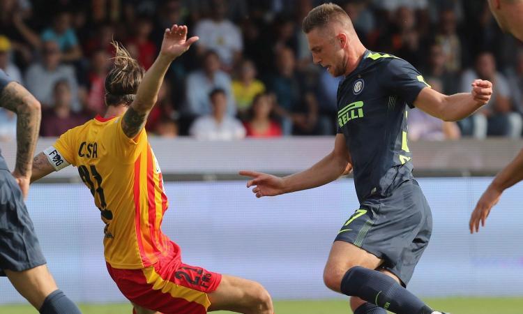 Benevento-Inter, le pagelle di CM: Borja e Vecino giù, Skriniar un muro