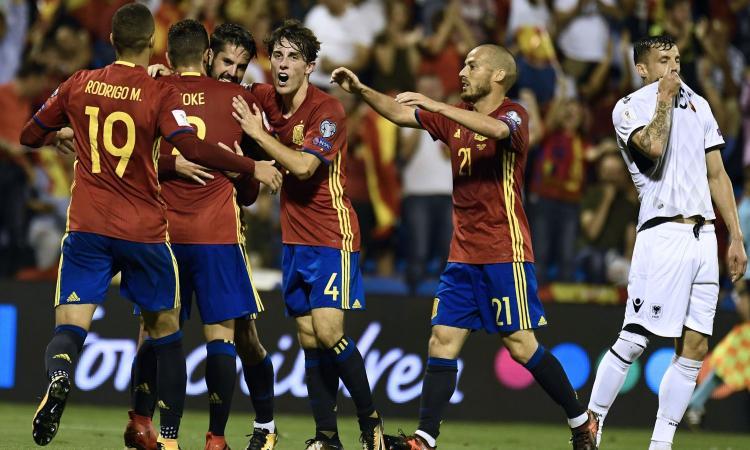 Qual. Mondiali: la Spagna va in Russia. Perdono Serbia e Turchia, pari Croazia