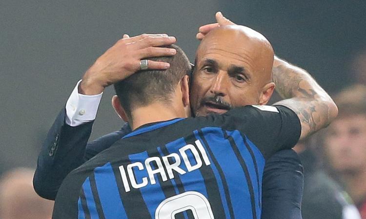 Spalletti: 'Icardi grandioso. Derby vinto col ghigno giusto. Sfida al Napoli? Chi gioca per l'Inter ha dei doveri...' VIDEO