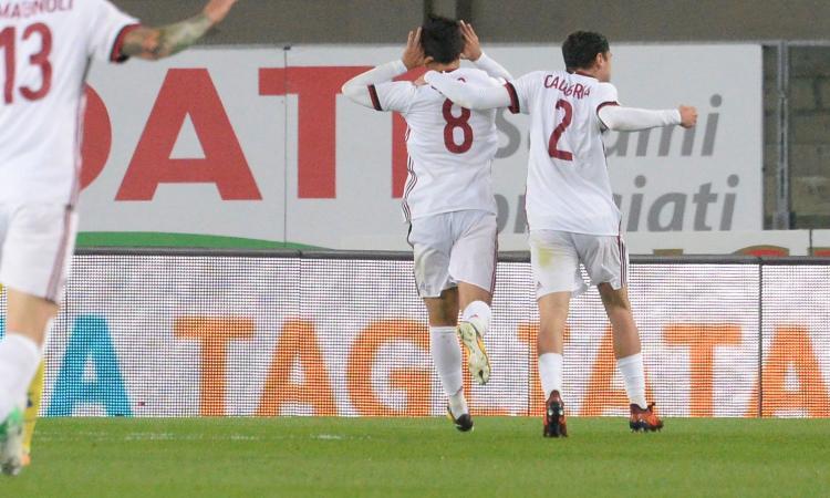 Chievo-Milan, le pagelle di CM: Suso incanta, Rodriguez sugli scudi