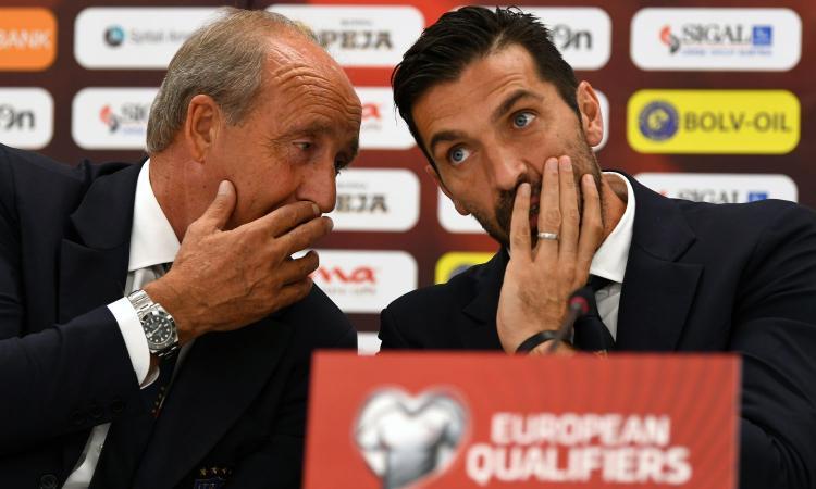 Ventura: 'Buffon e i senatori uomini veri. L'Italia deve andare al Mondiale'