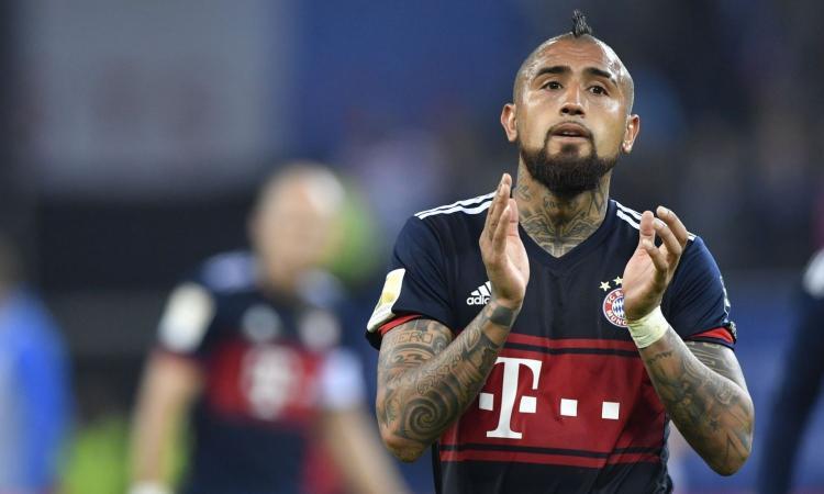 Vidal dice sì all'Inter: vuole l'Italia