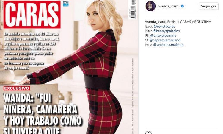 Wanda Nara: 'Mi piace lavorare per guadagnare, non sono solo la moglie di Icardi' FOTO