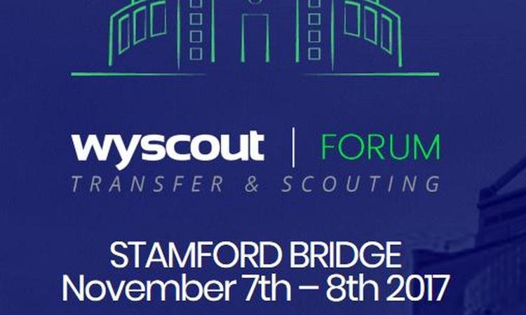 Wyscout Forum, il 7-8 Novembre nuova edizione allo Stamford Bridge