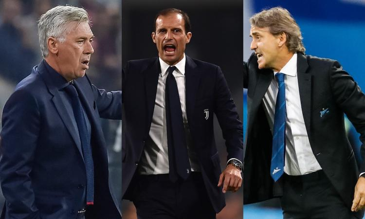 Nuovo ct, un nome su tutti: Ancelotti. Le alternative: Allegri e Mancini VIDEO