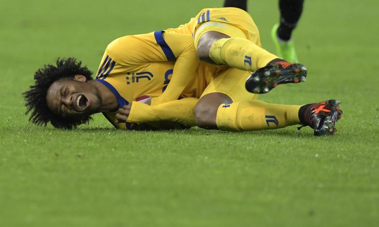 Juventus, ecco cos'ha Cuadrado