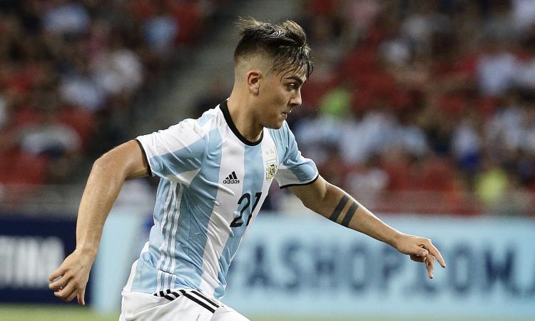 Juve, Dybala scende in campo con l'Argentina... per tre minuti