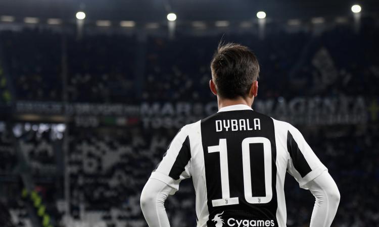 Dybala e la Juventus in un quadro FOTO