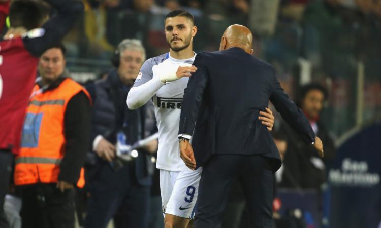 Inter, Spalletti sicuro: 'Icardi non va via'