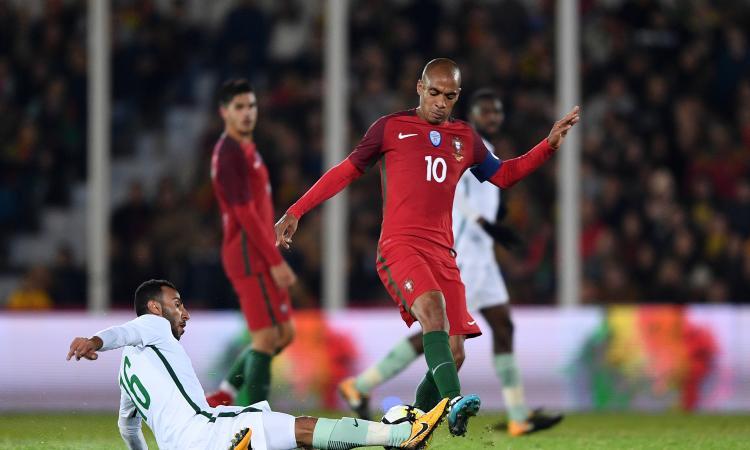 Fascia da capitano e gol, Joao Mario esulta con il Portogallo: 'Sono felice'