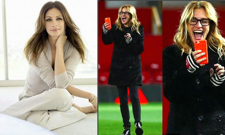 Mourinho ha una tifosa d'eccezione: Julia Roberts! FOTO e VIDEO