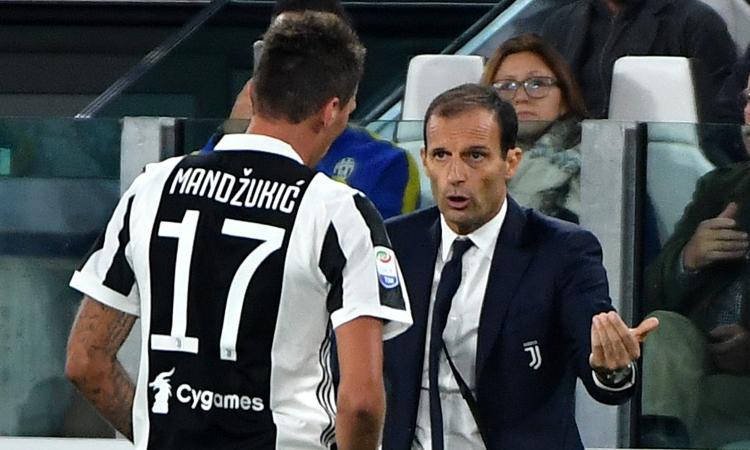 Allegri, basta con Mandzukic! Una Juve senza scudetto equivale a un fallimento