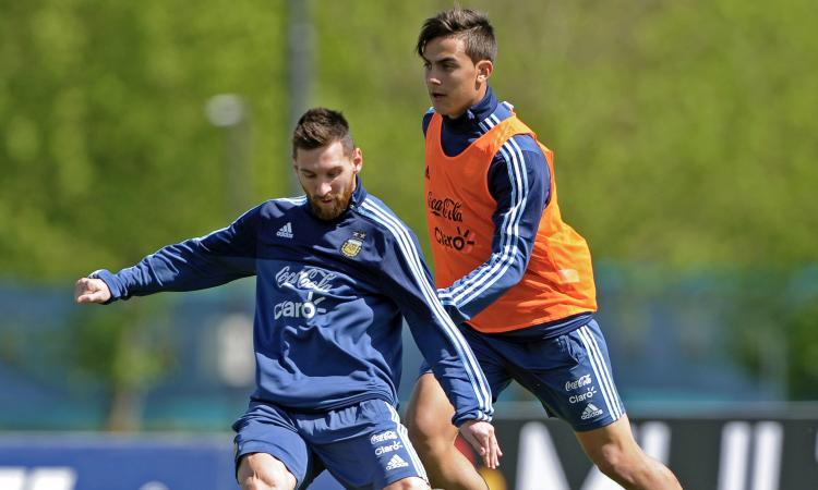 Argentina, Messi: 'Tra Aguero, Icardi e Higuain...'