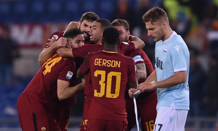 Il derby sentenzia: Roma da scudetto, Lazio tradita dal disastroso Bastos
