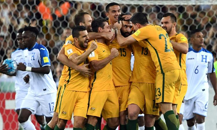 L'Australia batte l'Honduras e vola in Russia: ecco tutte le 31 nazionali già qualificate VIDEO