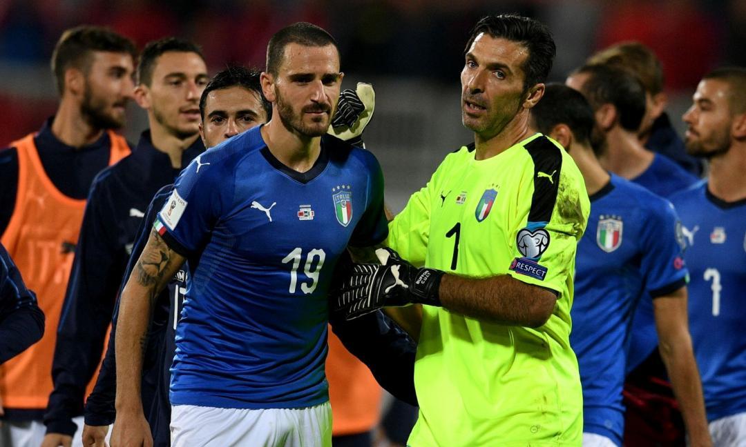 Buffon e Bonucci nuovamente insieme