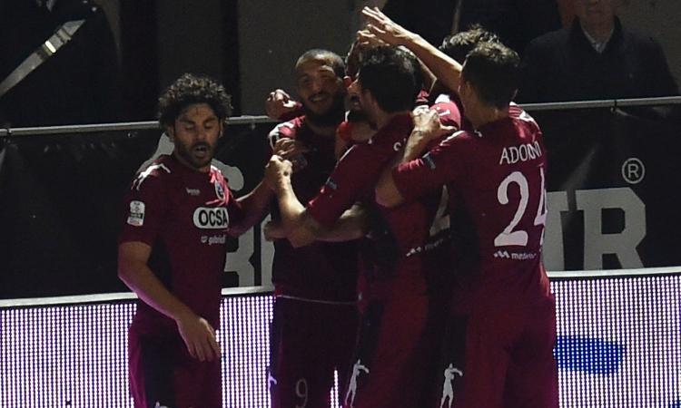 Cittadella-Salernitana 4-3: il tabellino
